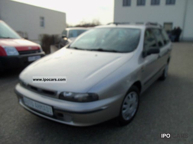 1999 Fiat  Marea 1.6 Weekend * climate control * D3 Kat Estate Car Used vehicle photo