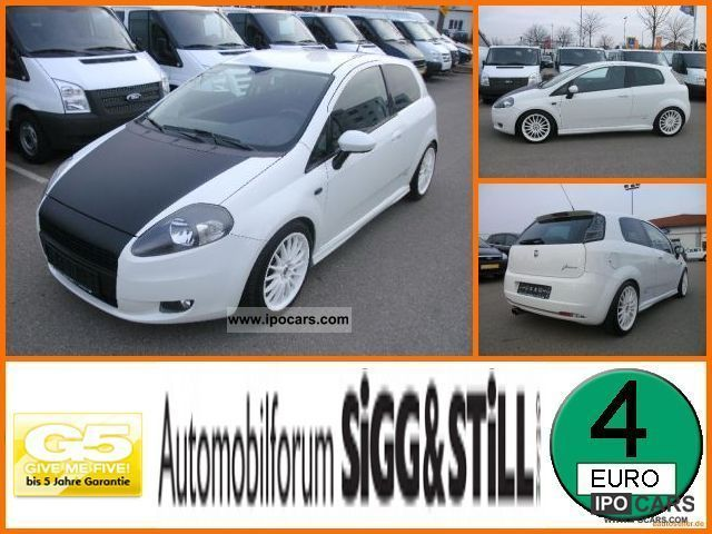 2008 Fiat  Grande Punto 1.4 T-Jet 16V air conditioning, Ra Small Car Used vehicle photo