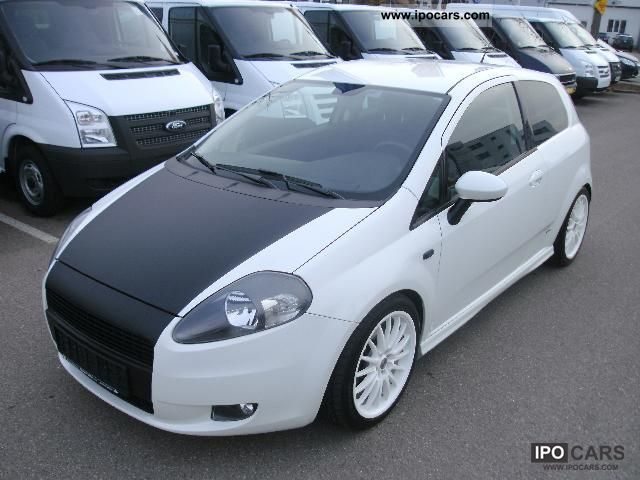 2008 fiat grande punto 1 4 t jet 16v air conditioning ra car photo and specs. Black Bedroom Furniture Sets. Home Design Ideas