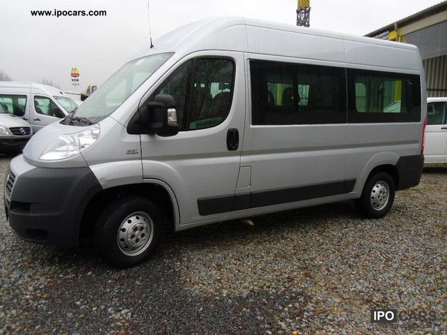 2009 Fiat  Ducato L2H2 9sitzer AIR Van / Minibus Used vehicle photo