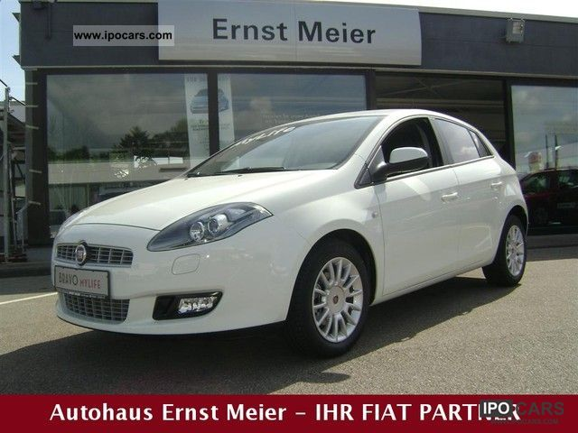 Fiat  Bravo 1.4 T-JET 16V Dynamic MyLife * CAR * GAS 2012 Liquefied Petroleum Gas Cars (LPG, GPL, propane) photo
