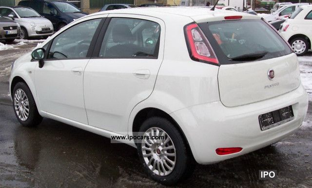 2012 fiat punto 1 2 8v easy car photo and specs. Black Bedroom Furniture Sets. Home Design Ideas