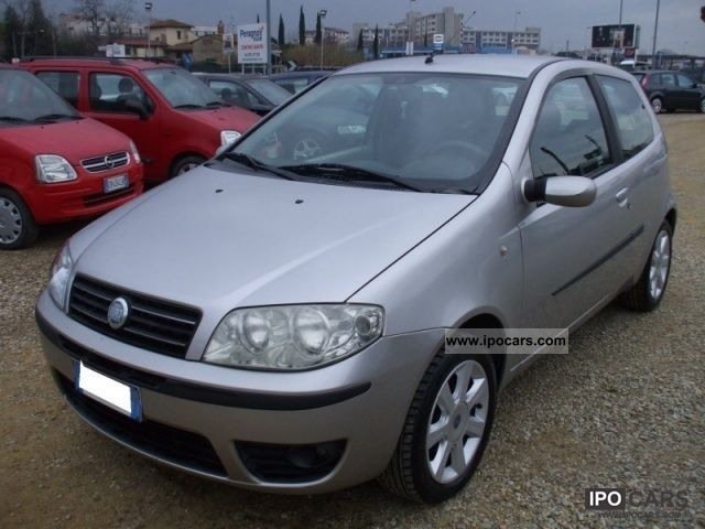 2004 fiat punto emotion car photo and specs. Black Bedroom Furniture Sets. Home Design Ideas