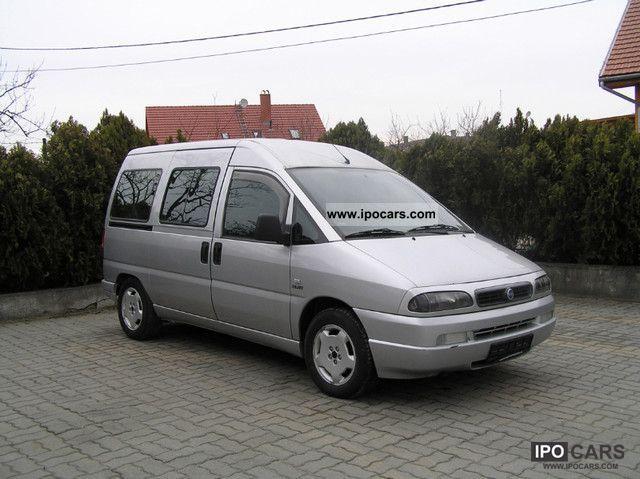 2002 Fiat  Combinatorica Scudo 16V Lusso 222.889.0 Estate Car Used vehicle photo