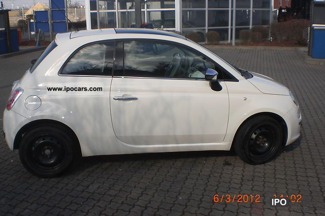 2007 Fiat 500 1.4 16v Lounge Small Car Used vehicle photo 1