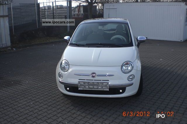 2007 Fiat 500 1.4 16v Lounge Small Car Used vehicle photo 4