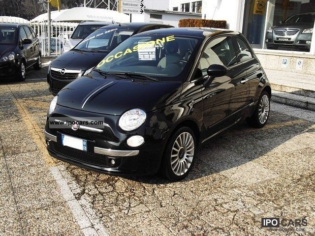 2007 fiat 500 1 4 16v 100cv lounge car photo and specs. Black Bedroom Furniture Sets. Home Design Ideas