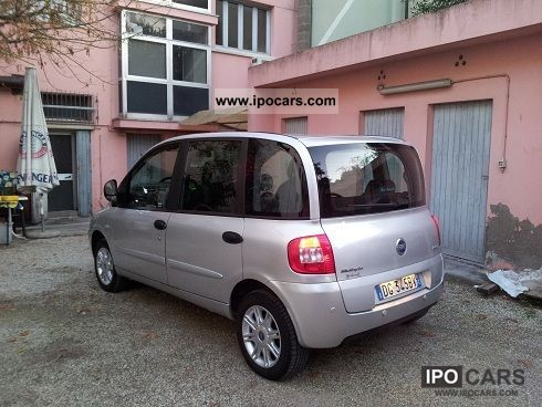 Fiat  Multipla 2007 Compressed Natural Gas Cars (CNG, methane, CH4) photo