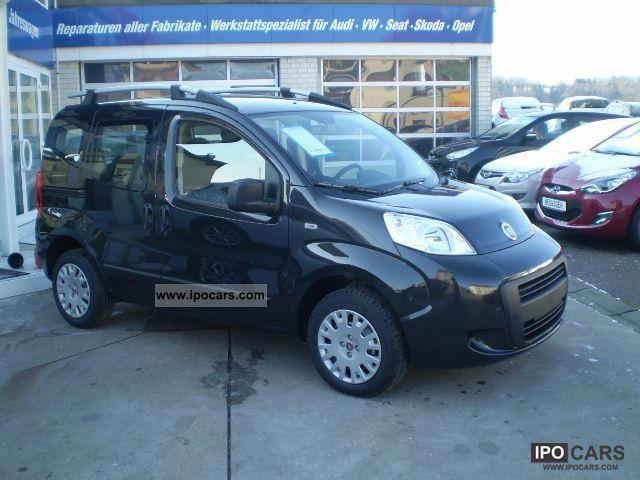 2011 Fiat  Qubo 1.4 Climate 2 sliding ZV / Fb. el.Fh.vo. Van / Minibus New vehicle photo