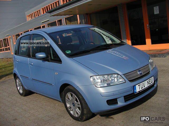 2006 fiat idea 1 4 16v tiptronic automatic emotion car for Fiat idea 2006 full 1 8