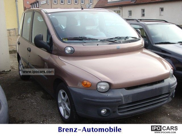 2000 fiat jtd 6 seater multipla 39 checkbook care car photo and specs. Black Bedroom Furniture Sets. Home Design Ideas