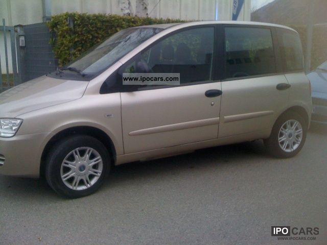 Fiat  Multipla 1.6 16V Natural Pow.Dynamic 2006 Compressed Natural Gas Cars (CNG, methane, CH4) photo