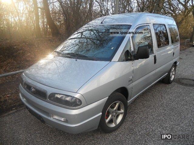 2003 Fiat  2.0-16 V Scudo JTD air 8-seat Stanhzg Van / Minibus Used vehicle photo