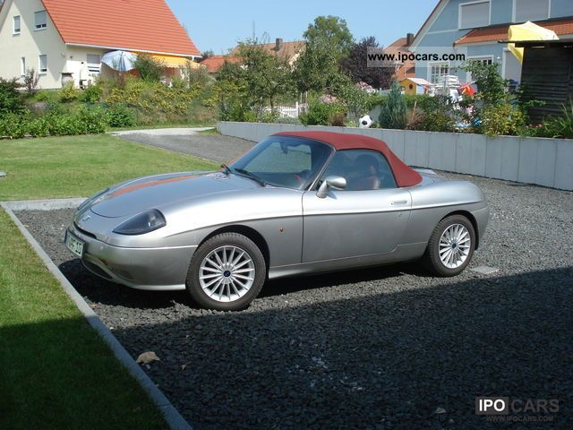 2000 Fiat  1.8 Limited Edition 99 Barchetta Cabrio / roadster Used vehicle photo