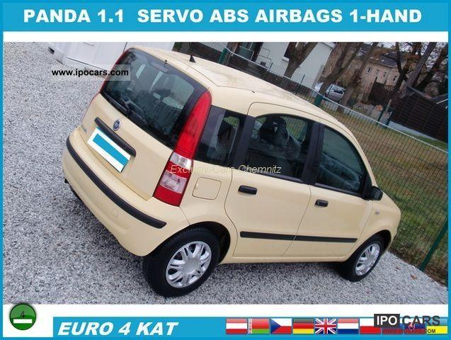 2007 Fiat  Panda 1.1 8V Active 1-hand servo ABS Airb. VAT. Limousine Used vehicle photo