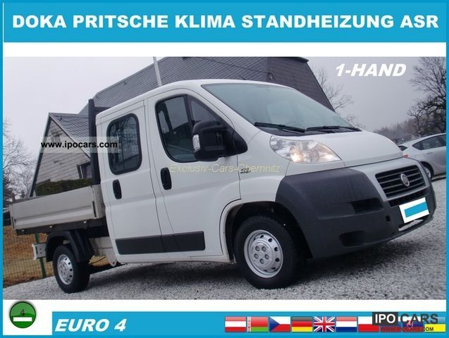2007 Fiat  Ducato 120 Multijet DOKA PRITSCHE STANDH. CLIMATE Other Used vehicle photo