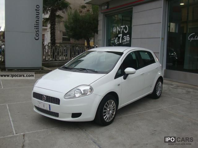 2008 fiat grande punto 1 3 multijet 16v dynamic car photo and specs. Black Bedroom Furniture Sets. Home Design Ideas