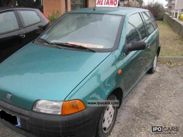Fiat  Punto 1999 Compressed Natural Gas Cars (CNG, methane, CH4) photo