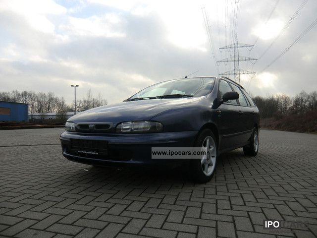 1998 Fiat  Marea Weekend 1.6 16V ELX-air conditioning-Tüv new Estate Car Used vehicle photo