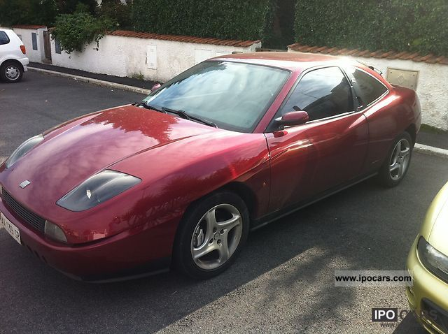 1998 Fiat  Coupe Sports car/Coupe Used vehicle photo