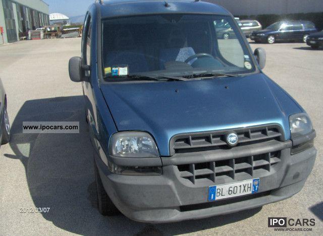2000 Fiat  Cargo SX 1.9 DS Van / Minibus Used vehicle photo