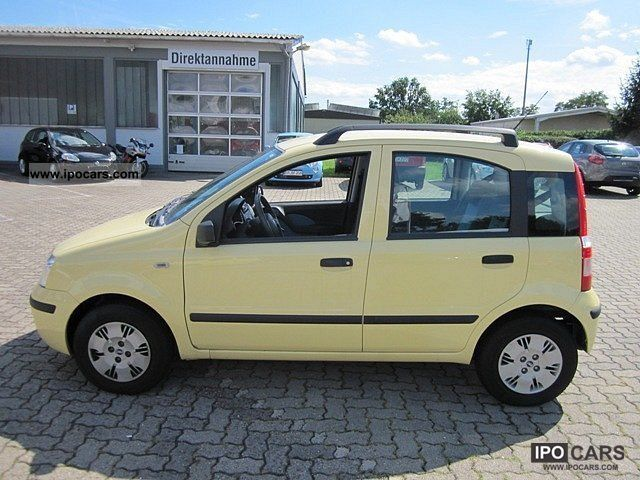 2007 fiat panda 1 2 dynamic car photo and specs. Black Bedroom Furniture Sets. Home Design Ideas