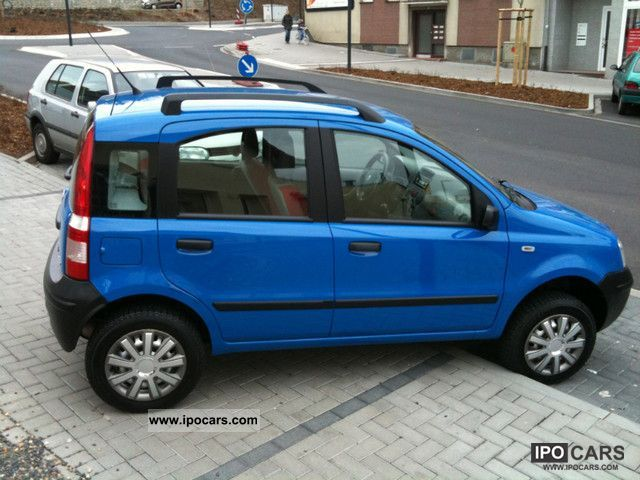 2006 fiat panda 1 3 multijet diesel 4x4 1 hand car photo and specs. Black Bedroom Furniture Sets. Home Design Ideas