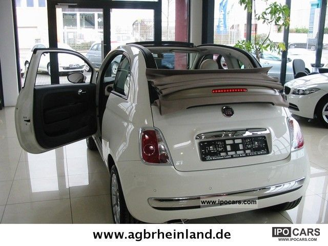 2011 Fiat  CONVERTIBLE 500 2.1 LOUNGE INTERSCOPE Euro * 5 * WARRANTY Cabrio / roadster Used vehicle photo
