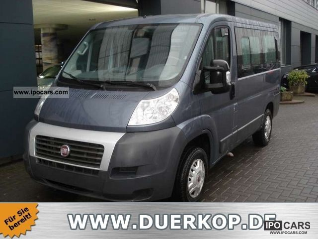 2009 fiat ducato kombi 2 3 jtd panoramic 9 seater air. Black Bedroom Furniture Sets. Home Design Ideas
