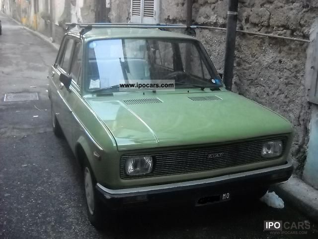 Fiat  128 cl 1976 Vintage, Classic and Old Cars photo