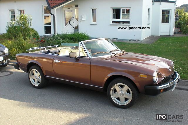 1979 fiat h 124 spider approval car photo and specs. Black Bedroom Furniture Sets. Home Design Ideas