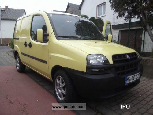 2002 Fiat  Doblo 1.9 D SX Van / Minibus Used vehicle photo