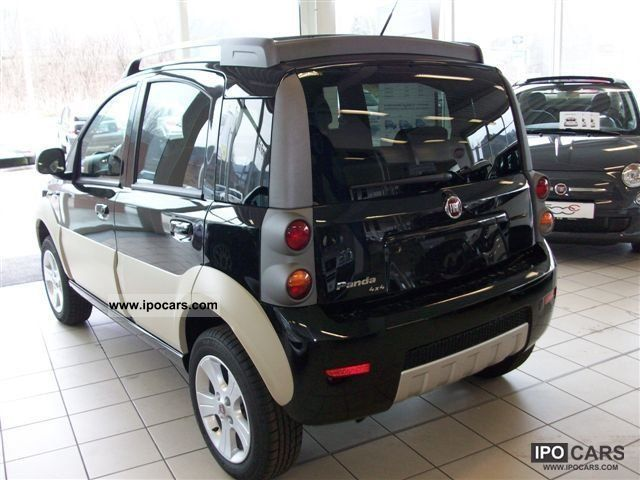2011 fiat panda 1 3 multijet 4x4 cross car photo and specs. Black Bedroom Furniture Sets. Home Design Ideas