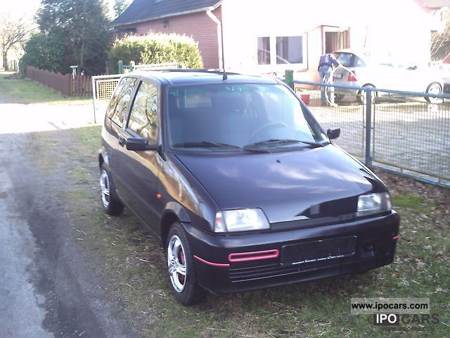 1995 Fiat  Cinquecento 1.1 Sporting Small Car Used vehicle photo