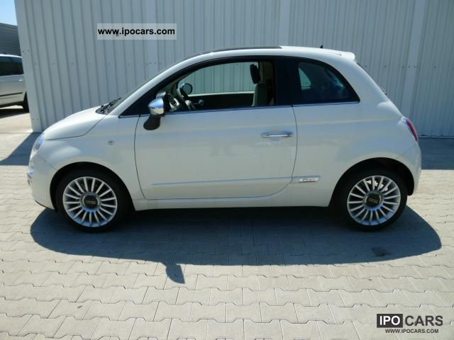 2011 Fiat  500 0.9 Lounge Skydome rail turbo TwinAir 85 ... Small Car New vehicle photo