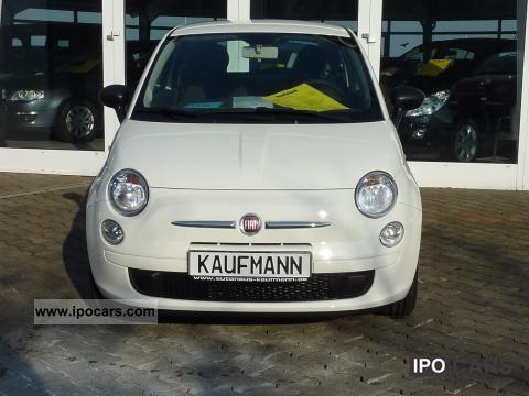 2011 Fiat  500 1.2 8V Pop climate radio/CD/MP3 € 5 Limousine Pre-Registration photo