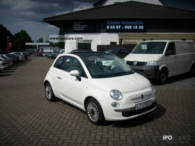 2011 Fiat  500 0.9 Lounge TWIN AIR ECO Start Stop Limousine Used vehicle photo