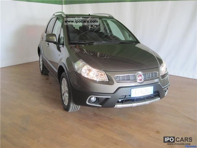 2011 Fiat  Sedici 1.6 16V 4x4 Experience Estate Car Used vehicle photo