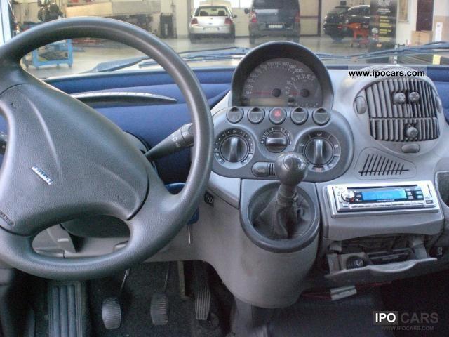 2002 Fiat Multipla 1 9 Jtd Sx