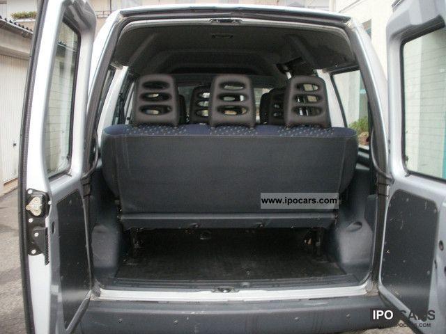 2000 Fiat Scudo 1 9 Td Combi 9 Seats Nato Air Standhzg