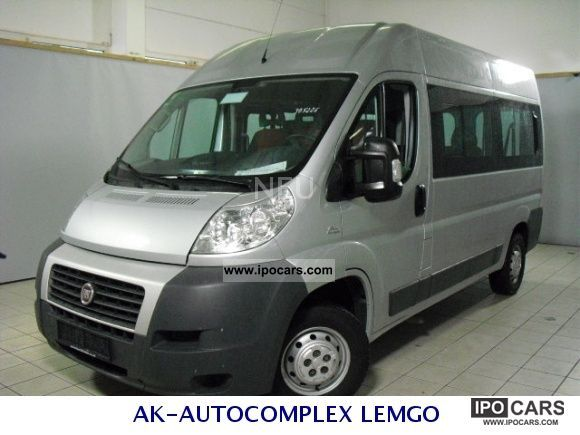 2008 fiat ducato l2h2 dpf multi jet 9 sitzer air 12. Black Bedroom Furniture Sets. Home Design Ideas
