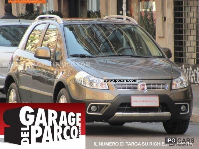 2011 Fiat  Sedici 1.6 16V 4x2 uniproprietario EMOTION Off-road Vehicle/Pickup Truck Used vehicle photo