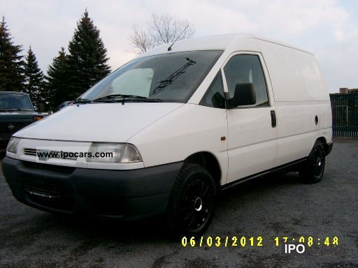 1998 Fiat  Scudo 1.9 Diesel Truck-registration ONLY 1990! Van / Minibus Used vehicle photo