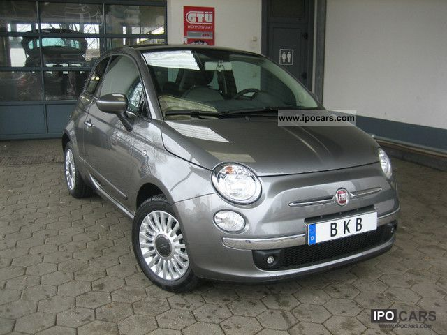 2011 Fiat  500 panorama roof air conditioning alloy wheels Small Car Pre-Registration photo