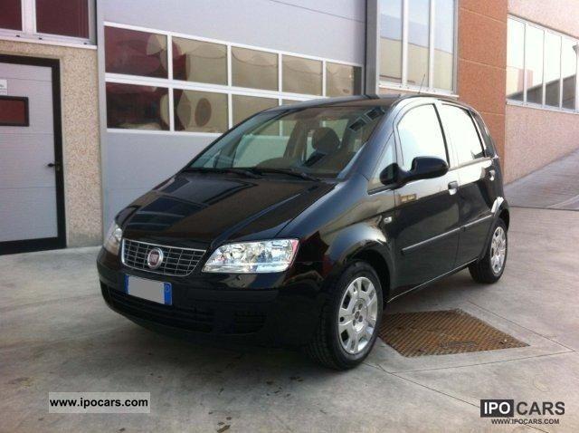 2011 Fiat Idea 14 16v Stop Start Active Car Photo And Specs