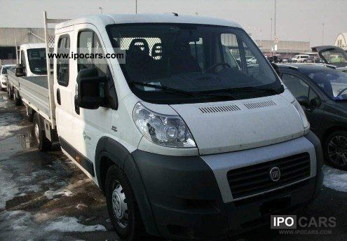 2008 Fiat  Ducato Maxi 2.2 Platform Mjt 6th gear 120'''' climate Other Used vehicle photo