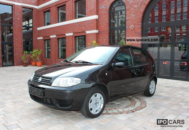 Fiat  Punto 1.2 8V Natural Power * Climate * ZV * el.Fensterh 2005 Compressed Natural Gas Cars (CNG, methane, CH4) photo