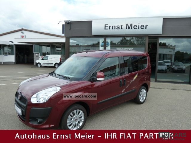 Fiat  Doblo 1.4 16V Natural Power Dynamic TAGESZUL. 2011 Compressed Natural Gas Cars (CNG, methane, CH4) photo
