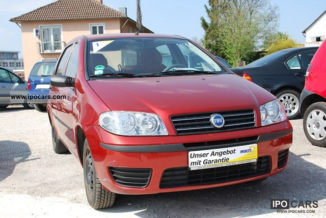 Fiat  Punto 1.2 8V Natural Power natural gas * Warranty * air * 2005 Compressed Natural Gas Cars (CNG, methane, CH4) photo