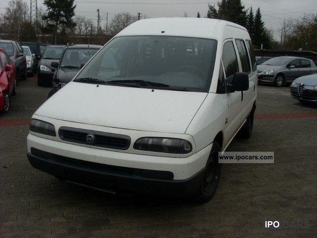 2004 Fiat  Scudo 2.0 16 V Estate Car Used vehicle photo